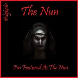 "I was featured as ""The Nun"" 9/21 any confessions?"